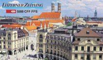 München Wochenende zu zweit inkl. SBB Karten gewinnen