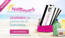 Parfumcity Gutscheine im Wert von CHF 275.- gewinnen