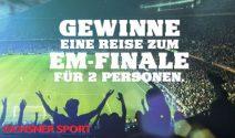 Reise zum EM Finale gewinnen