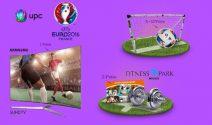 Samsung TV, Fitness Park Jahresabo und Adidas Fussball gewinnen