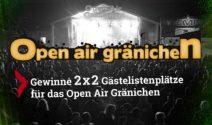 2 x 2 Open Air Gränichen Tickets gewinnen