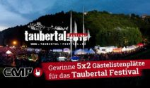 5 x 2 Taubertal Festival Tickets gewinnen