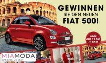 Fiat 500 oder CHF 12'500.- Bargeld gewinnen