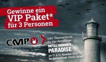 Metal Hammer Paradise Tickets inkl. VIP-Paket gewinnen