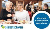 Wein- und Gourmetfahrt für drei Personen gewinnen