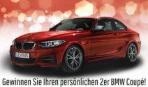 Dein persönlicher 2er BMW Coupé im Wert von über 35'000.- gewinnen