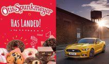 Ford Mustang für ein Wochenende oder OTIS SPUNKMEYER gewinnen