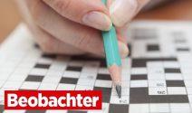 Beobachter Kreuzworträtsel: täglich tolle Preise gewinnen