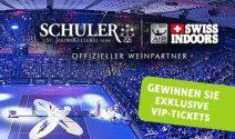 2 x Swiss Indoors VIP-Tickets im Wert von CHF 1'650.- gewinnen