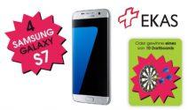 4 x Samsung Galaxy S7 oder 10 x Dartboard gewinnen