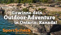 Abenteuer Reise nach Kanada für zwei inkl. Outdoor Ausrüstung gewinnen