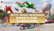 Disneyland Paris oder Legoland Eintritte für die ganze Familie gewinnen