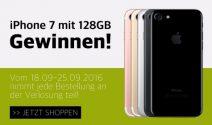 iPhone 7 128 GB in der Farbe nach Wahl gewinnen