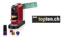 Nespresso Citiz Maschine im Wert von CHF 199.- gewinnen