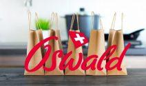 Oswald Produkte im Wert von CHF 1'000.- gewinnen