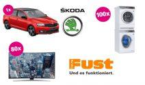 Škoda, Waschturm, TV sowie zahlreiche Gutscheine gewinnen