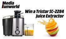 Tristar Juice Extractor gewinnen
