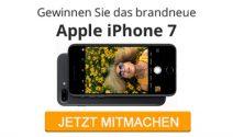 Ein neues iPhone 7 in einer der vier wunderschönen Farben gewinnen
