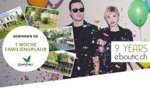 1 Woche Center Parks Ferien für die ganze Familie gewinnen