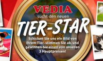Vedia Gutscheine im Wert von CHF 425.- gewinnen