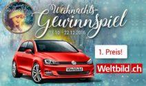 VW Golf, iPad, iPhone, Laptop, Ferien und viel mehr gewinnen