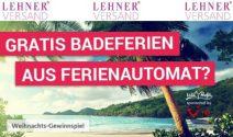 Badeferien und mehr im Gesamtwert von CHF 100'000.- gewinnen