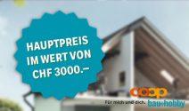 Bosch Geräte im Wert von über CHF 6'000.- gewinnen