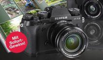 Fujifilm Kameras oder Fuji Gutscheine gewinnen
