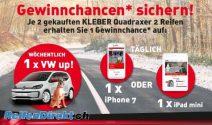 Jede Woche VW, iPhone 7 oder iPad gewinnen