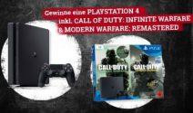 PS4 inkl. Call of Dyty Spiel gewinnen