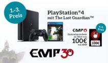 PS4 inkl. Spiel, EMP Gutschein und mehr gewinnen