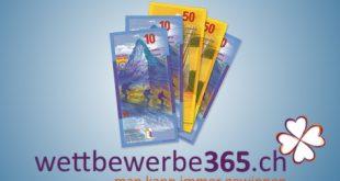 Reka Checks im Wert von CHF 500.- gewinnen
