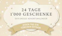 1'000 Adventsgeschenke gewinnen