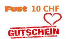 Gratis: 10 Franken Fust Gutschein