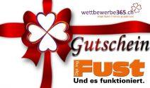 Fust-Gutschein im Wert von CHF 100.- gewinnen