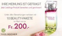 Jeden Monat 10 x Yves Rocher Beauty Paket gewinnen