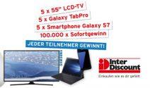 LCD TV, Samsung Galaxy S7 und viel mehr gewinnen