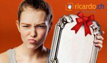 Unpassende Geschenke verkaufen und verdienen