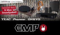 X-Mas Soundpaket inkl. Plattenspieler, Kopfhörer und Heimkino gewinnen