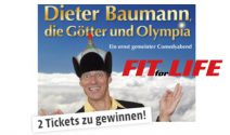 1 x 2 Dieter Baumann Tickets gewinnen