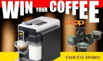 10 x Kaffeemaschine von Caffè Chicco d'Oro gewinnen