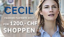 Cecil Gutschein im Wert von CHF 1'200.- gewinnen