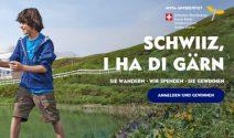 Familienferien in der Schweiz inkl. Halbpension gewinnen