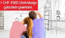 Möbelgutschein im Wert von CHF 4'000.- gewinnen