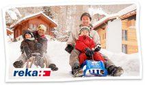 Reka Ferien für die ganze Familie im Wert von CHF 2'000.- gewinnen