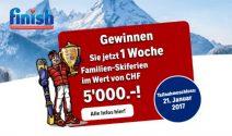 Skiferien für die ganze Familie im Wert von CHF 5'000.- gewinnen