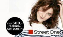 Street One Gutschein im Wert von CHF 500.- gewinnen