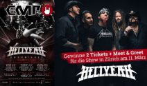 2 x Hellyeah Tickets inkl. Meet & Greet gewinnen
