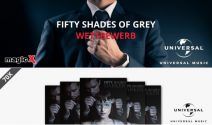 50 Shades of Grey Geschenkset inkl. Soundtrack gewinnen