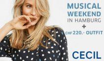 Hamburg Wochenende, Musical Tickets und Cecil Gutschein gewinnen